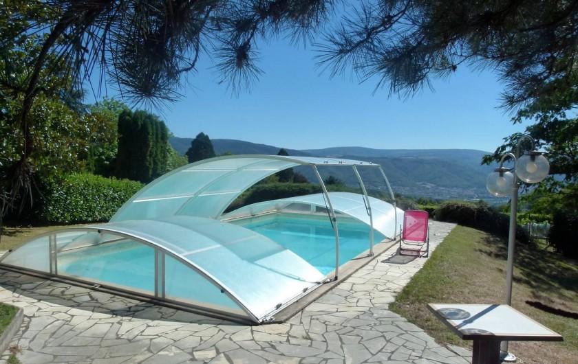 Location de vacances - Chambre d'hôtes à Pont-de-Larn - La piscine (10X5) sécurisée !