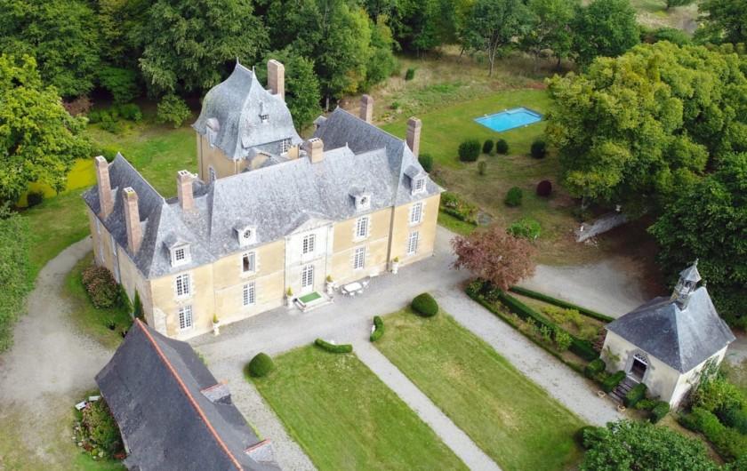 Location de vacances - Château - Manoir à Poligné - Château du Bois Glaume