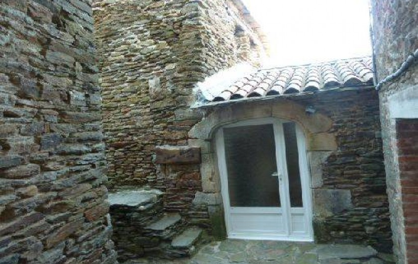 Location de vacances - Gîte à Malbosc - entrée du gite