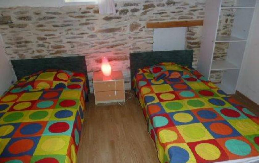 Location de vacances - Gîte à Malbosc - chambre 2  lit