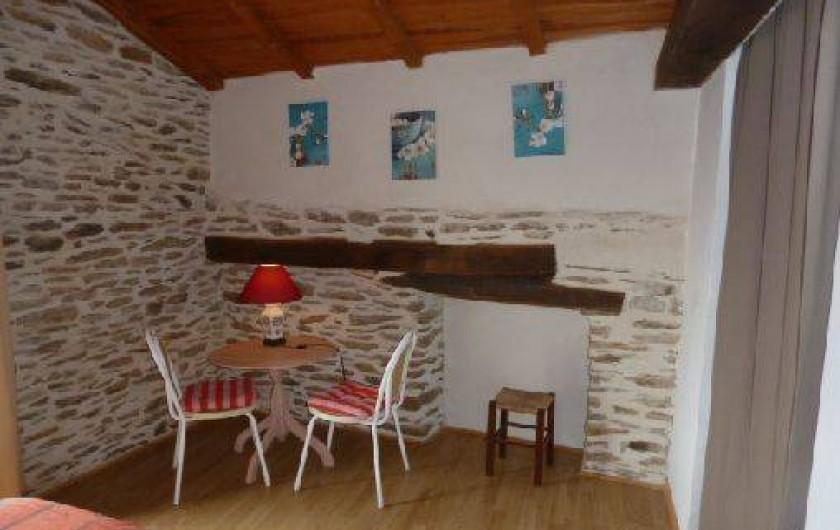 Location de vacances - Gîte à Malbosc - chambre  1lit