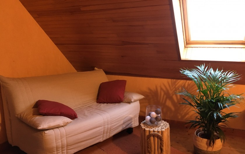 Location de vacances - Villa à Sibiril - Canapé lit