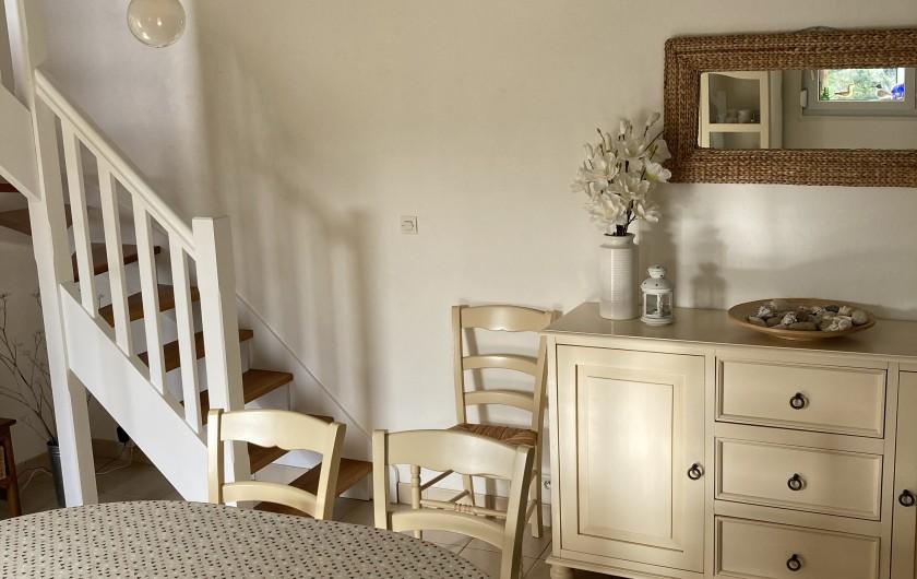 Location de vacances - Villa à Sibiril - Véranda s'ouvrant sur le jardin et la terrasse