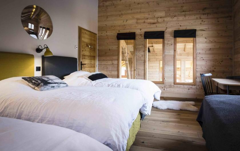 Location de vacances - Chalet à Vars - Dortoir 1 avec 4 lits simples