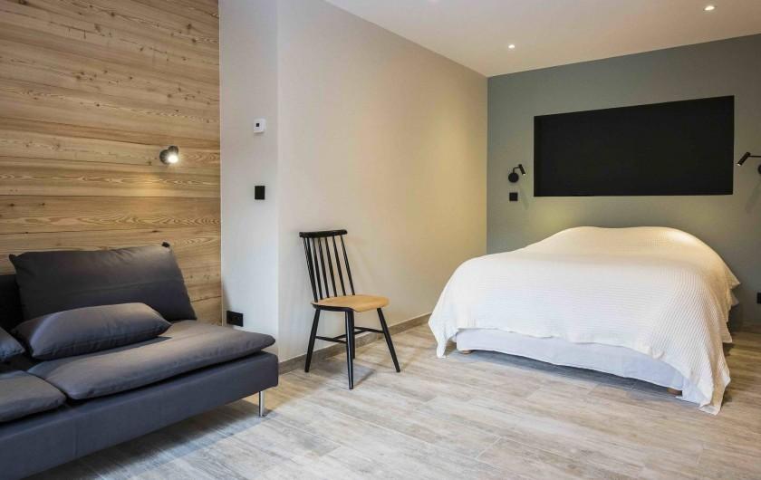 Location de vacances - Chalet à Vars - Chambre 4 avec salon TV