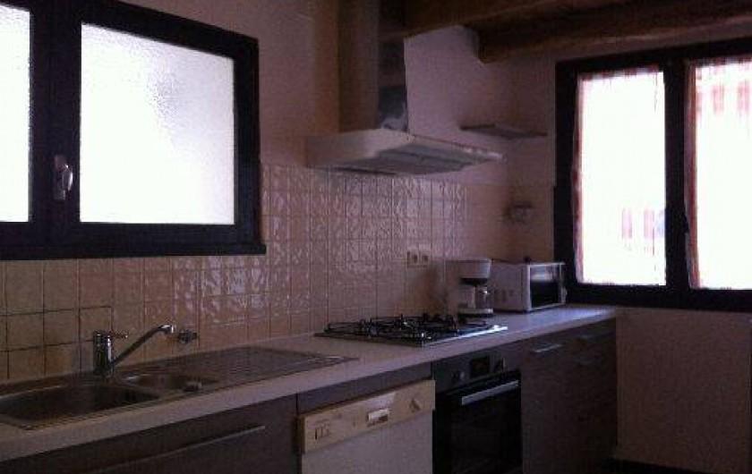 Location de vacances - Villa à Saint-Étienne-les-Orgues - Cuisine