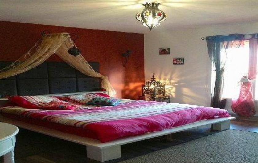Location de vacances - Maison - Villa à Bevons - Chambre Marakech