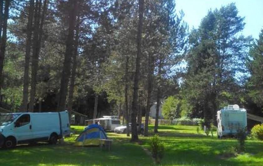 Location de vacances - Camping à Palisse - Espace campeur