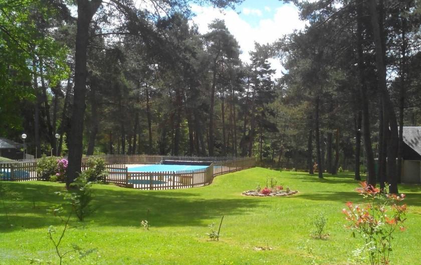 Location de vacances - Camping à Palisse - Le camping