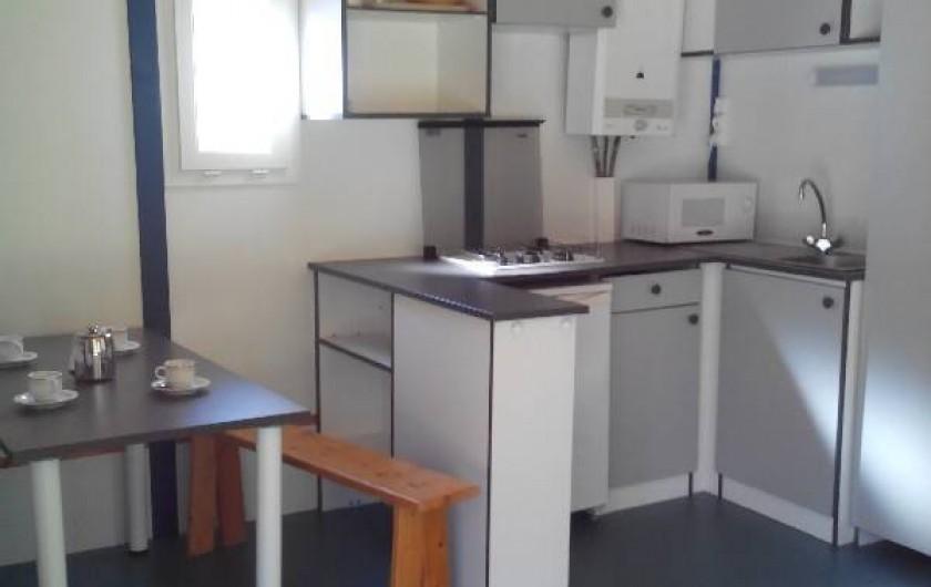 Location de vacances - Camping à Palisse - Coin cuisine