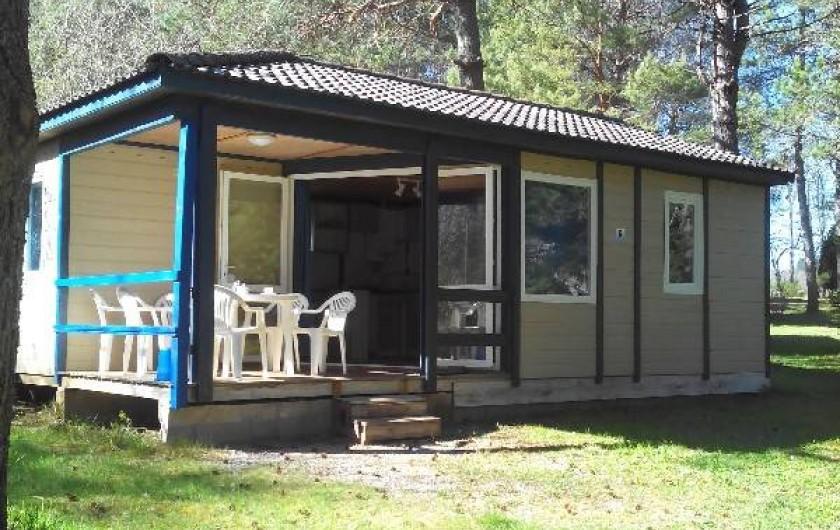 Location de vacances - Camping à Palisse - Chalet Rêve