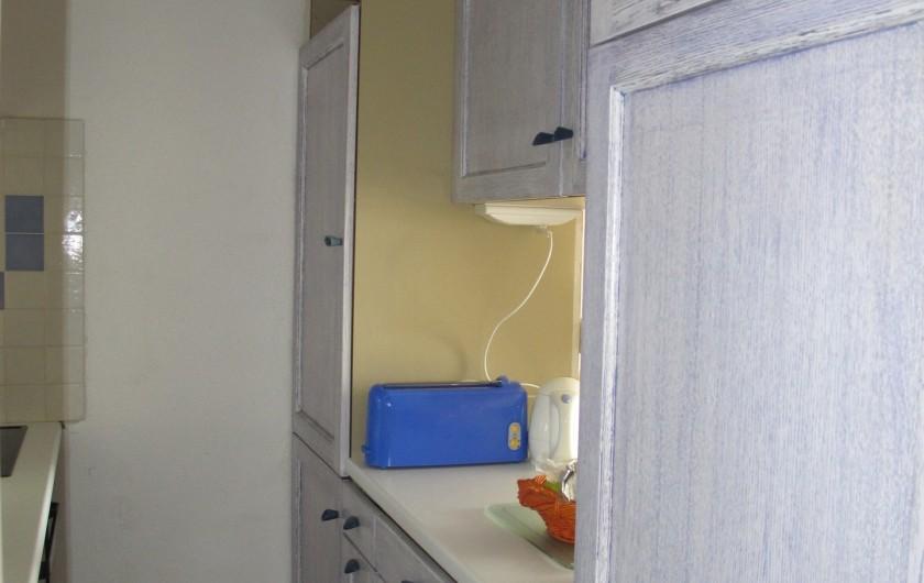Location de vacances - Appartement à La Grande-Motte - cuisine