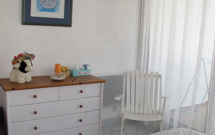 Location de vacances - Appartement à La Grande-Motte - chambre