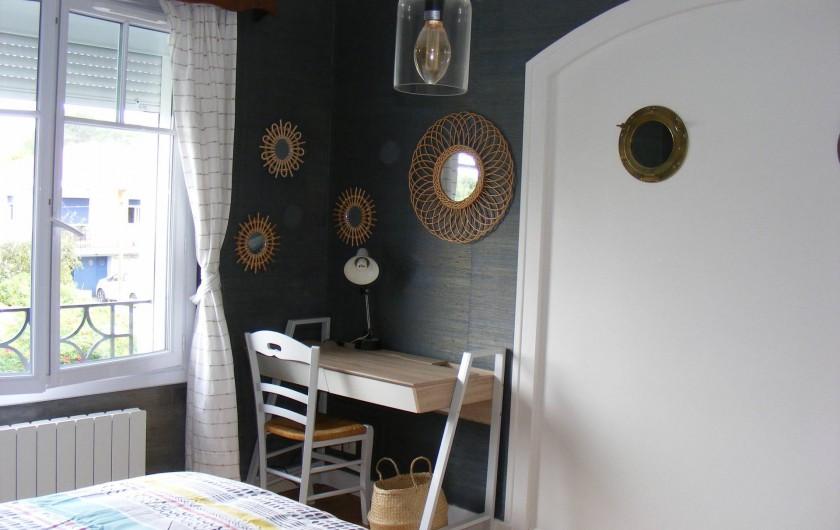 Location de vacances - Appartement à Tarnos - Bureau de la Chambre 2