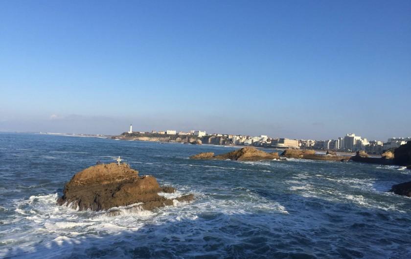 Location de vacances - Appartement à Tarnos - vue générale biarritz