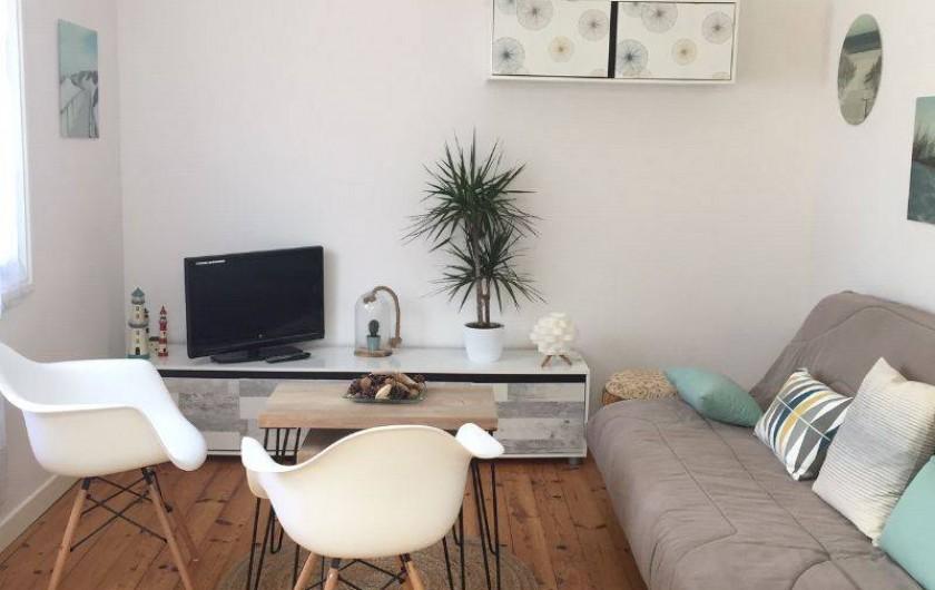 Location de vacances - Appartement à Tarnos - Séjour