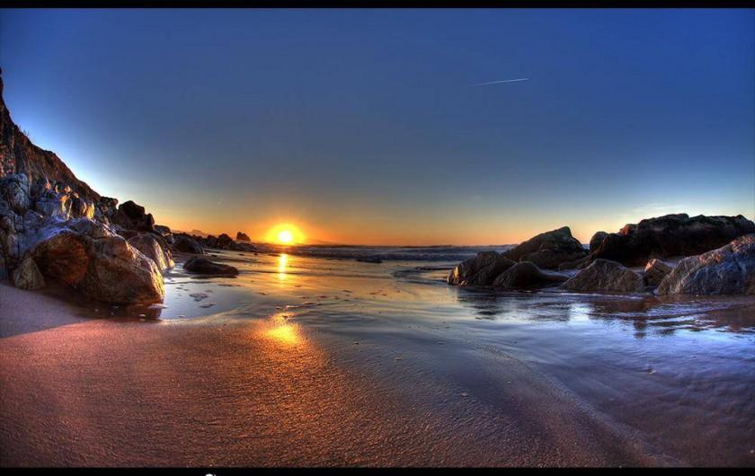 Location de vacances - Appartement à Tarnos - Balade en Espagne le long du littoral