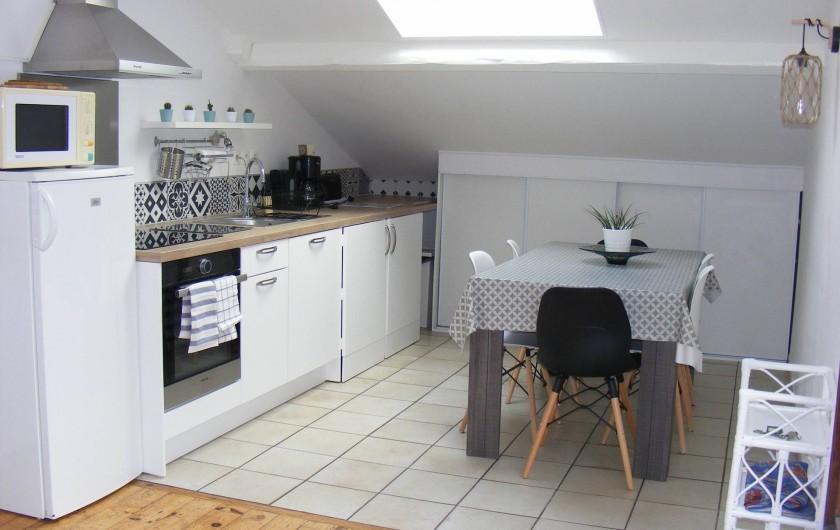Location de vacances - Appartement à Tarnos - Cuisine