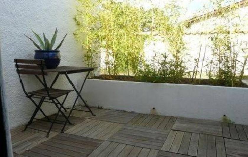 Location de vacances - Villa à Frontignan - Terrasse arrière