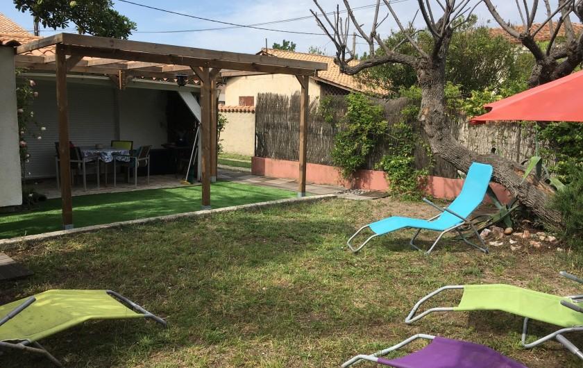 Location de vacances - Villa à Frontignan - Jardin