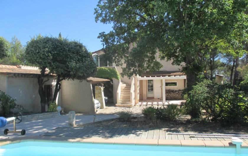 Location de vacances - Appartement à Éguilles - Dans un quartier résidentiel, un appartement de 85 m2 proche d'AIX...