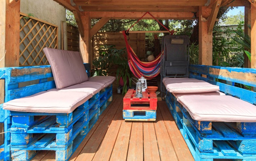 Location de vacances - Villa à Hourtin Plage - Terrasse