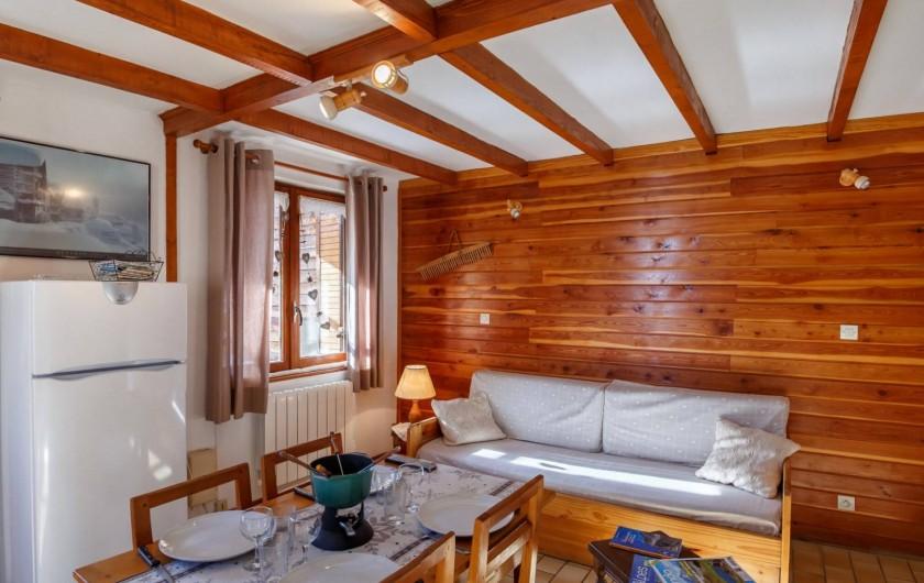 Location de vacances - Appartement à Saint-Véran - Coin séjour