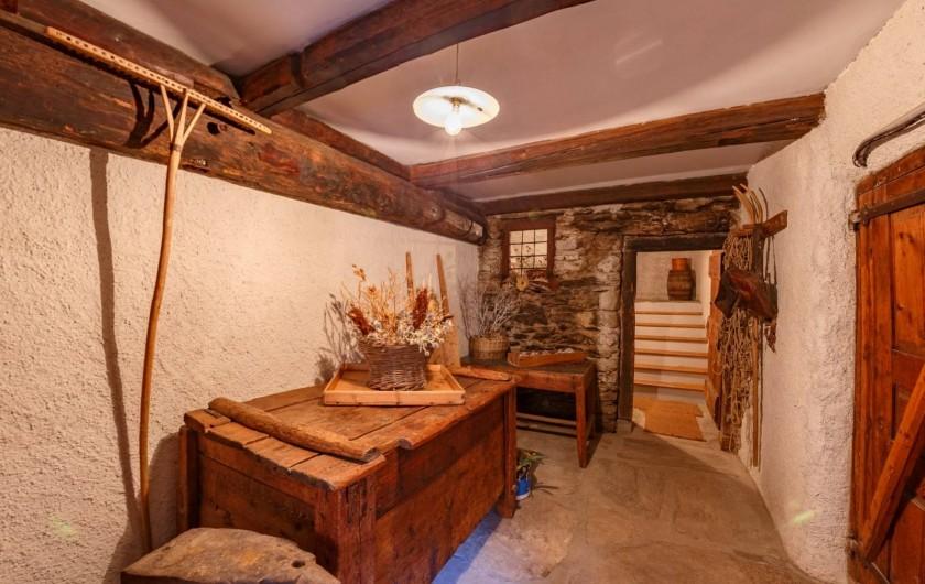 Location de vacances - Appartement à Saint-Véran - Entrée du chalet