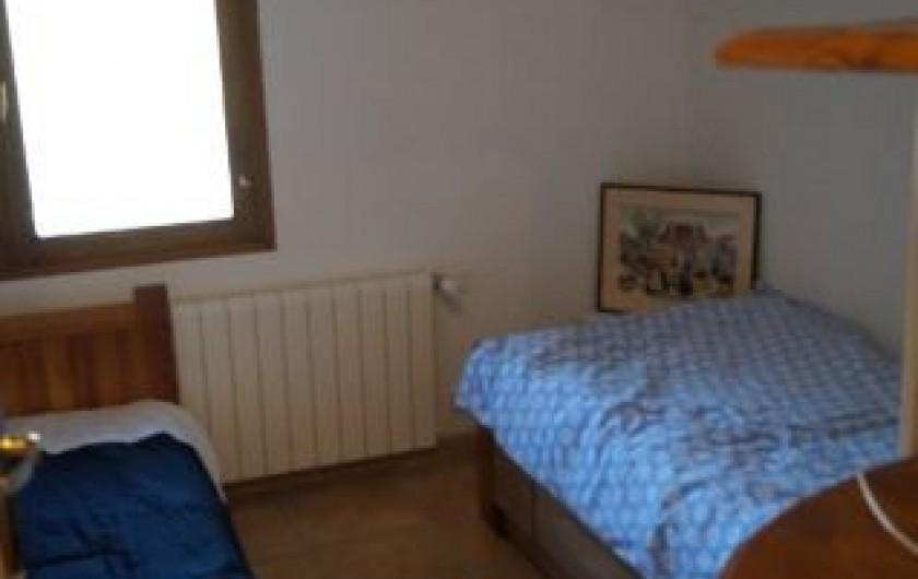 Location de vacances - Gîte à La Rochette - autre de vue de cette chambre