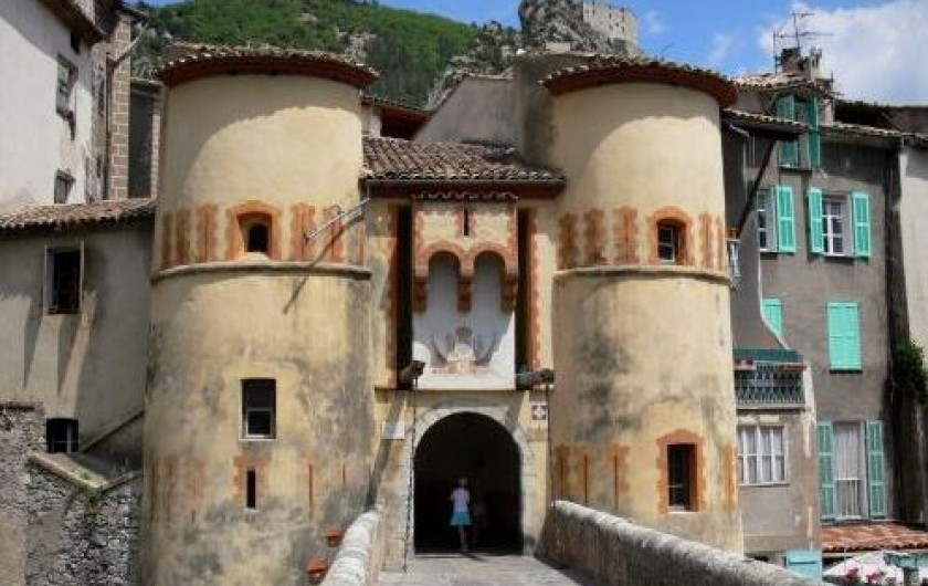 Location de vacances - Gîte à La Rochette - Entrevaux