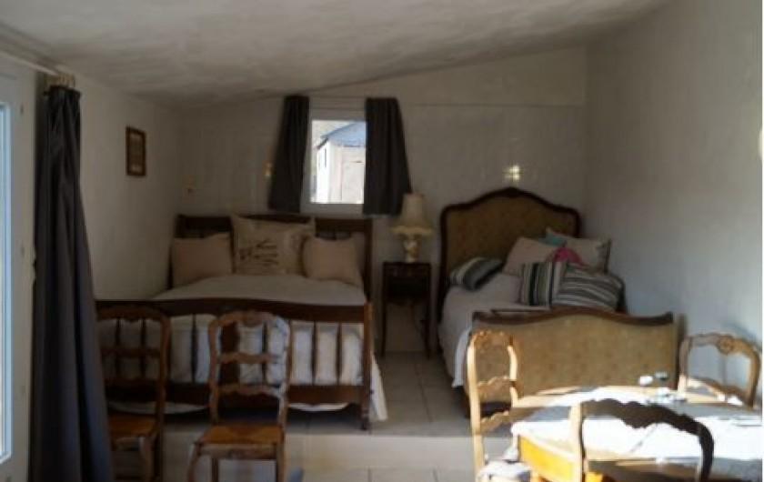 Location de vacances - Gîte à La Rochette - Salle de repos du gîte 6 pièces