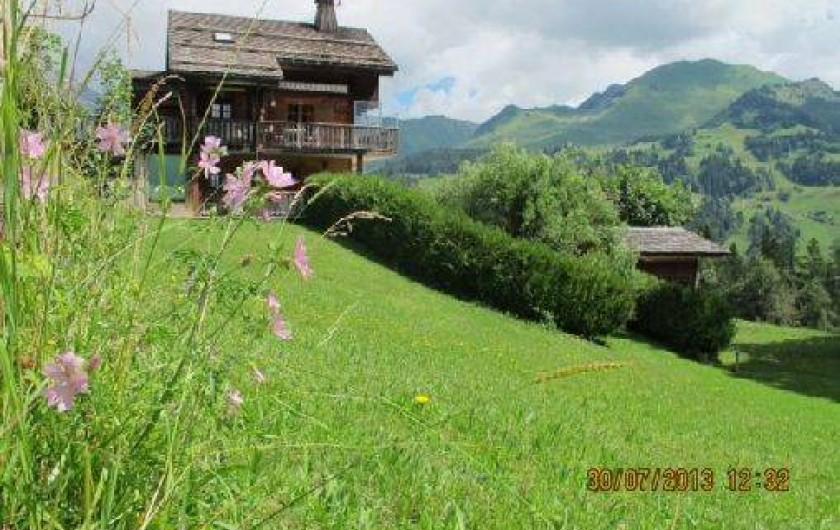 Location de vacances - Chalet à Le Grand-Bornand