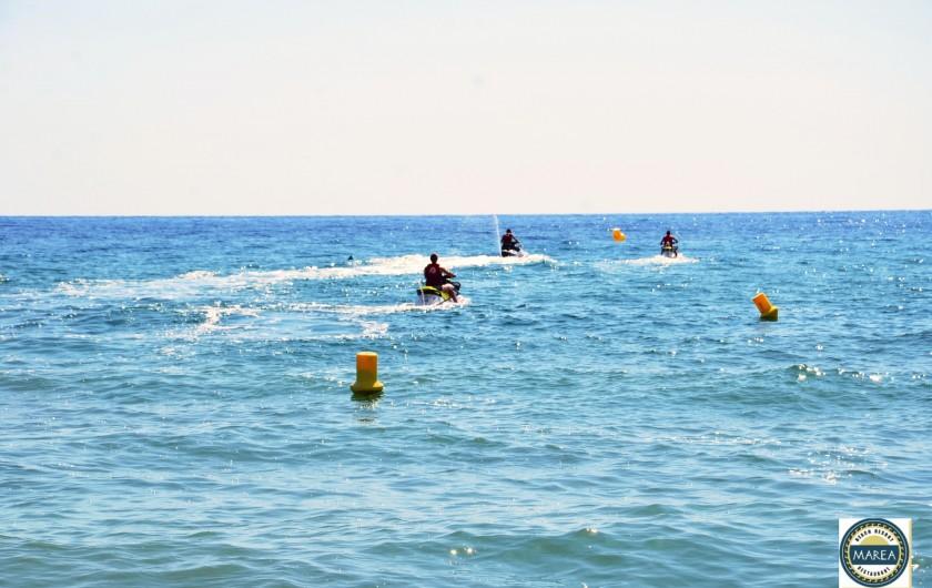 Location de vacances - Appartement à Santa-Lucia-di-Moriani - Location de jet-ski sur place