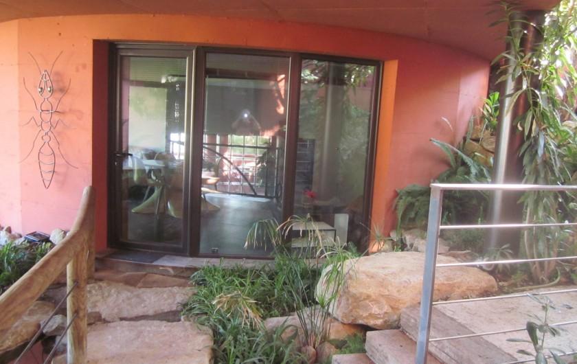 Location de vacances - Studio à Mandelieu-la-Napoule - entree