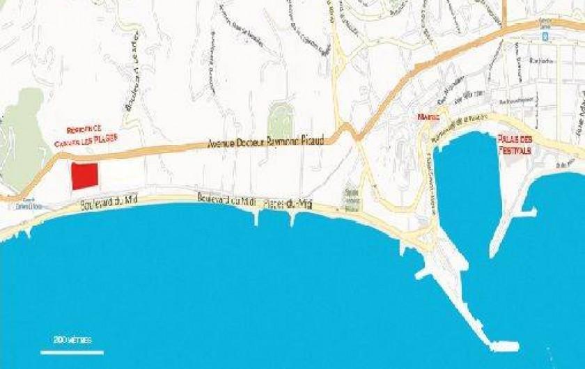 Location de vacances - Studio à La Bocca