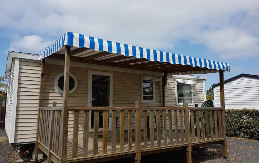 Location de vacances - Camping à Givrand - Mobil-home 3 chambres 6 pers