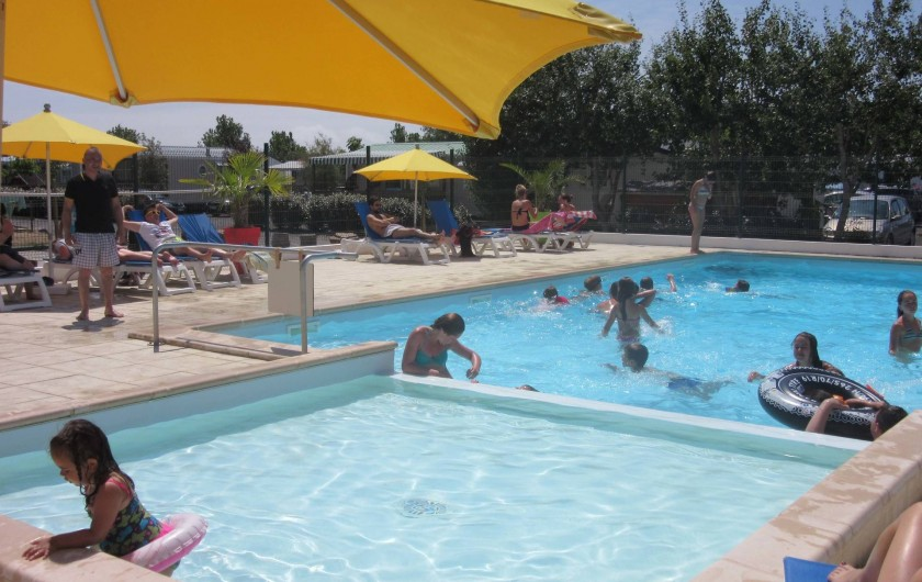 Location de vacances - Camping à Givrand - Piscine et pataugeoire