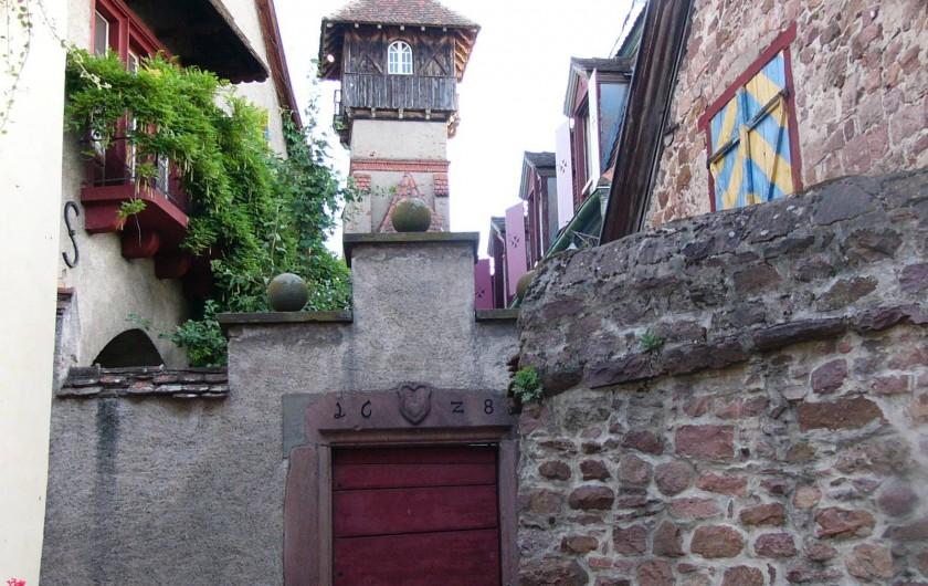 Location de vacances - Gîte à Gueberschwihr - Gueberschwihr, village médiéval authentique