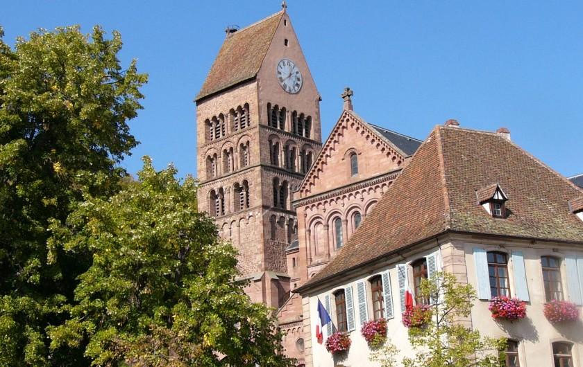 Location de vacances - Gîte à Gueberschwihr - Gueberschwihr, village pittoresque près de Colmar et Eguisheim