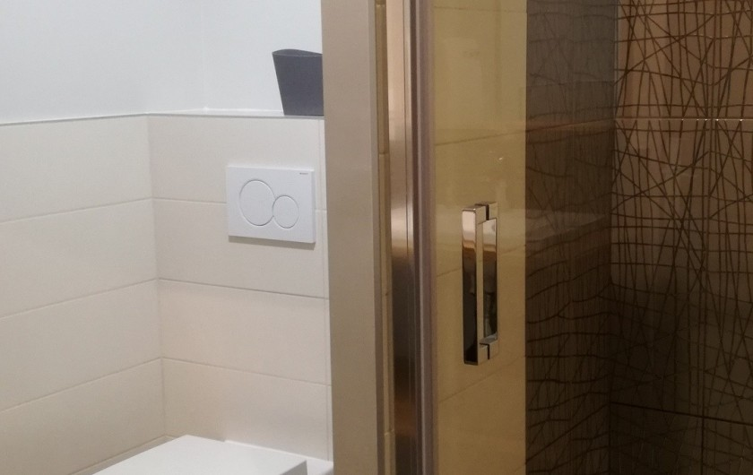 Location de vacances - Gîte à Laruns - Douche et coin toilette