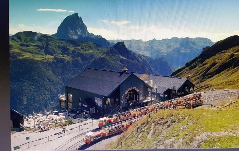 Location de vacances - Gîte à Laruns - Station d'Artouste et son petit train