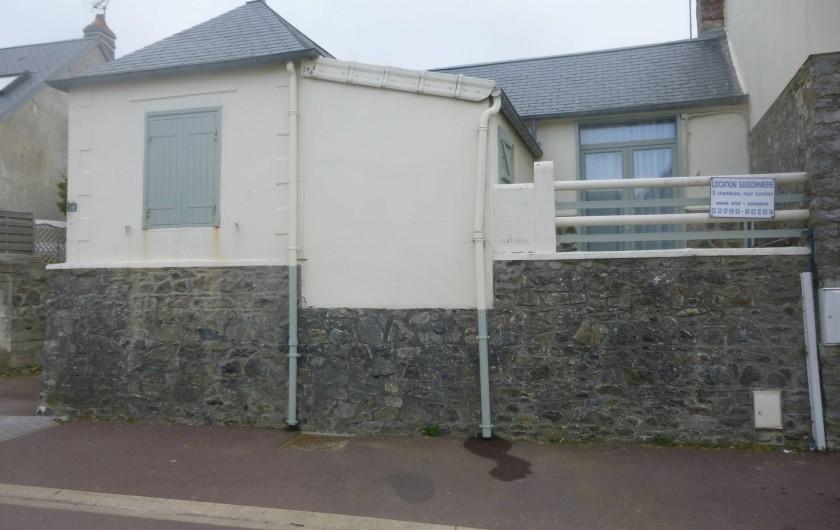 Location de vacances - Maison - Villa à Agon-Coutainville - Terrasse