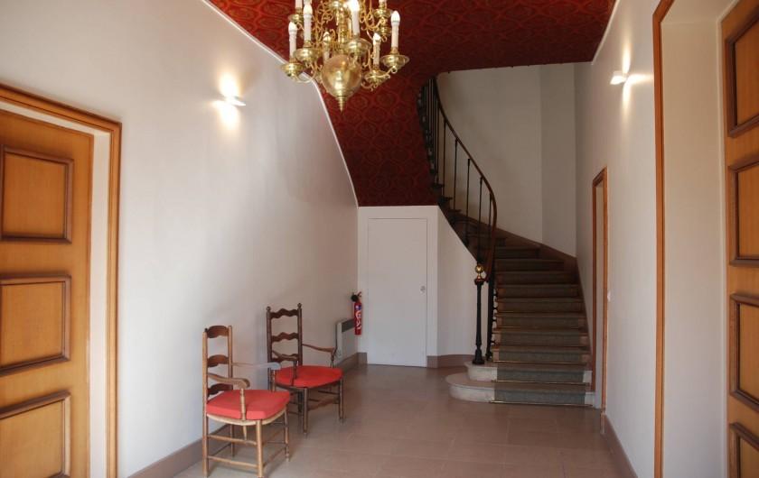 Location de vacances - Appartement à Tours - Entrée rez-de-chaussée