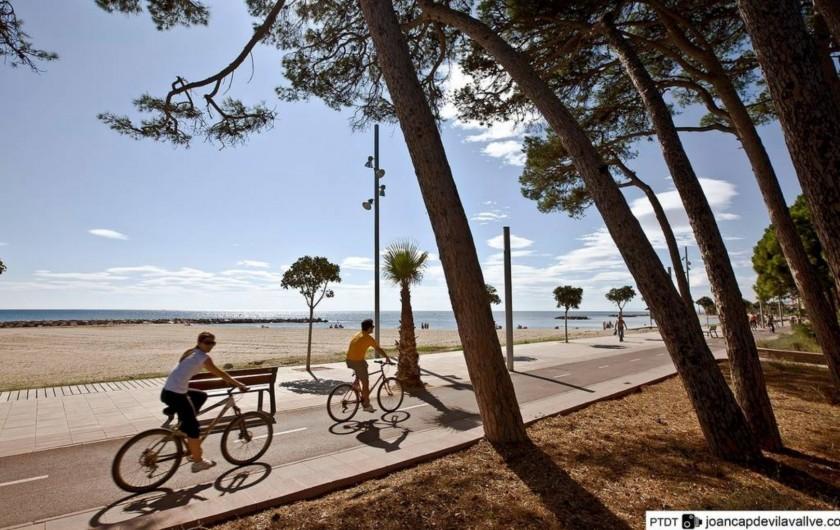Location de vacances - Villa à Cambrils - pistes cyclables