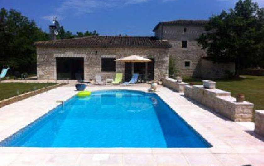 Location de vacances - Gîte à Fontanes - piscine