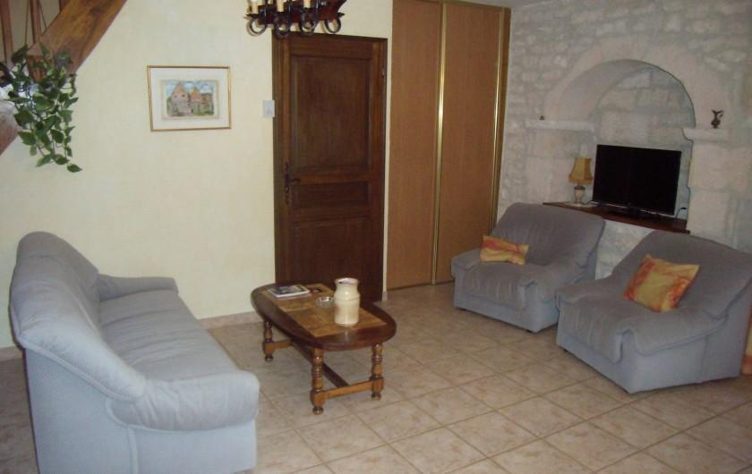 Location de vacances - Gîte à Fontanes - salon