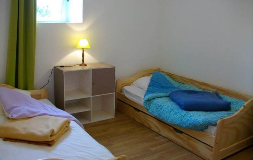 Location de vacances - Gîte à Noyant-la-Gravoyère - Chambre