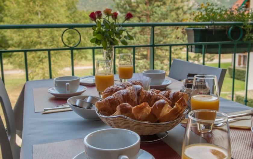 Location de vacances - Hôtel - Auberge à Giez - Petit-déjeuner avec des produits frais, locaux