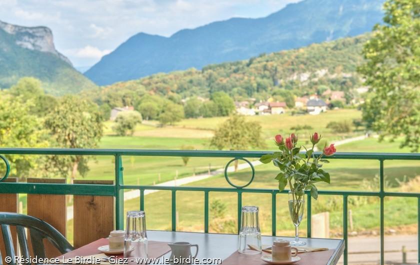 Location de vacances - Hôtel - Auberge à Giez - Appartements avec balcons ou terrasse
