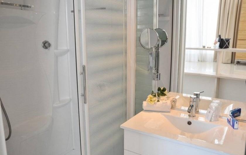 Location de vacances - Appartement à Saint-Cyprien Plage - Duplex, Salle de bain